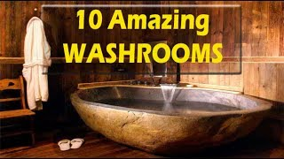 Amazing Bathrooms Around The World ( TOP 10 LUXURIOUS AND DREAM BATHROOMS WILL BLOW YOUR MIND )