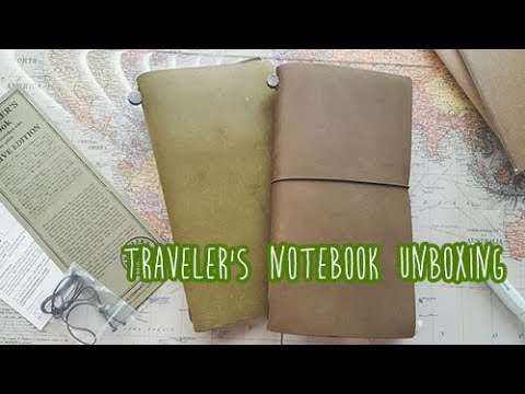 ~Comparison: Traveler's Company Notebook~ Olive Edition