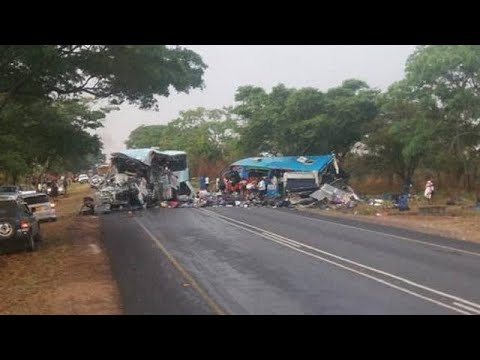 47 persons lost their lives in a bus collision in Zimbabwe [No Comment]