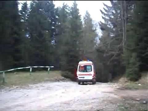 Cu ATV-ul in rapa
