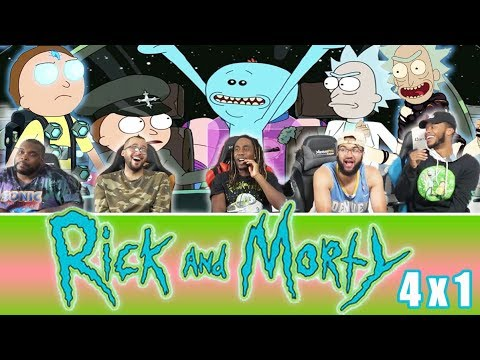 """Rick And Morty 4 x 1 Reaction! """"Edge of Tomorty: Rick Die Rickpeat"""""""