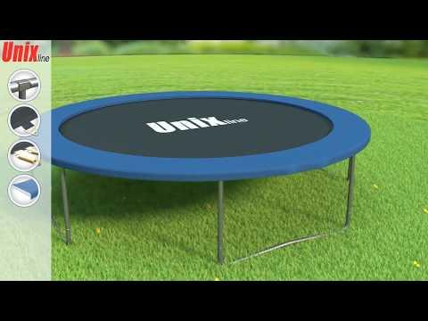 Сборка батута Unix line
