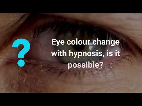 Change Eye Colour with Hypnosis