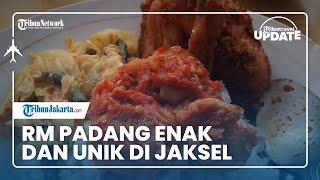 TRIBUN TRAVEL UPDATE: Rinai Pembasuah Luko, Rumah Makan Padang Enak dan Unik di Jakarta Selatan
