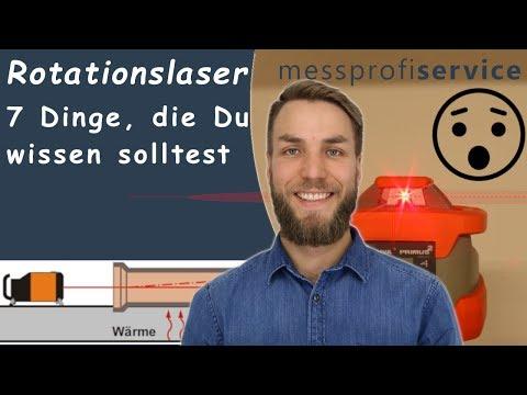 Rotationslaser 7 Dinge, die Du wissen solltest | messprofiservice