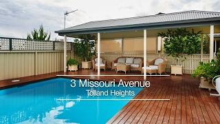 3 Missouri Avenue, Tolland Heights - SOLD