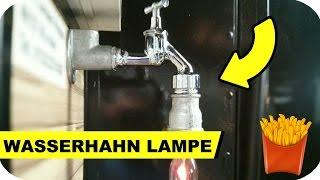 Lampe Selber Bauen Aus Einem Wasserhahn Steampunk