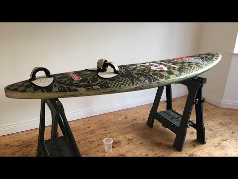 How To – Repair a damaged windsurf board
