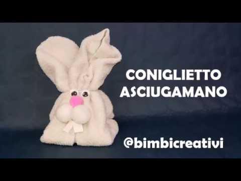 Coniglietto Asciugamano / Bimbi Creativi / #134