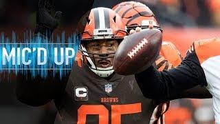 "Myles Garrett Mic'd Up vs. Bengals ""It really is nothing, but it's Baker"" | NFL Films"