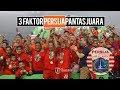 3 Faktor yang Buat Persija Pantas Jadi Juara Liga 1 2018