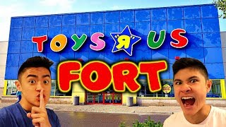 TOYS R US AND WALMART FORT!!