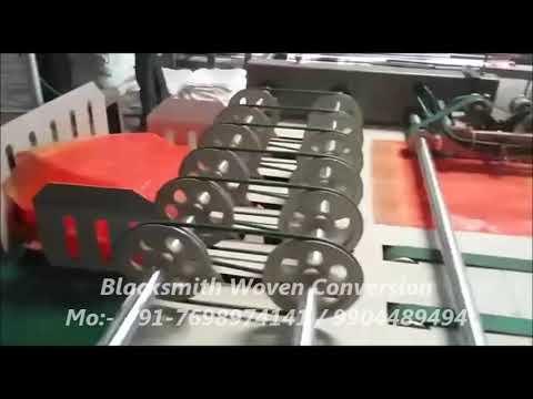 Woven Sack Cutting and Stitching Machine