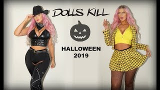 🎃IM DONE 😰 DOLLS KILL HALLOWEEN HAUL 🖤 2019