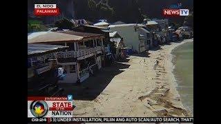 SONA: Bahagi ng mga establishment sa El Nido na lumabag sa easement rule, iniatras o binakbak