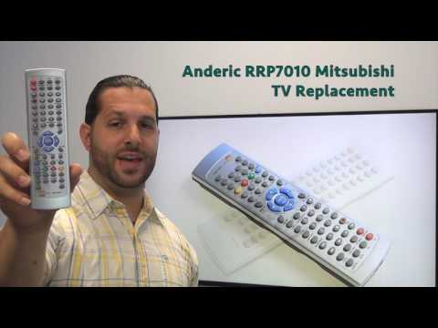 ANDERIC RR242WT Sharp TV Remote Control