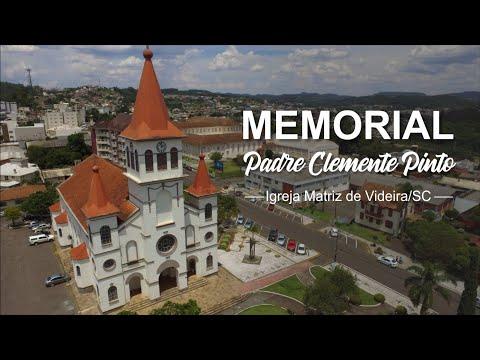 Inauguração do Memorial Padre Clemente Pinto, situado dentro da Torre Central da Igreja Matriz.