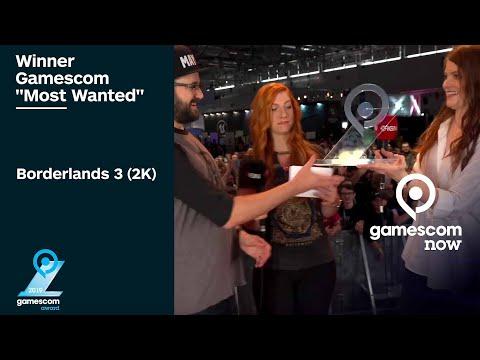 """gamescom """"Most Wanted"""" - Fan-Award für Borderlands 3 - gamescom awards"""