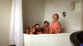 The Ice Bath Challenge!!!!!   Mya And Friends
