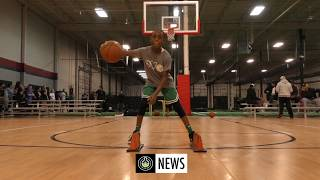 """9 Y/O In The Lab WORKING ON HIS GAME!! Jahlil """"JahSwish"""" Owusu FULL Session W/ Trevor Harris"""