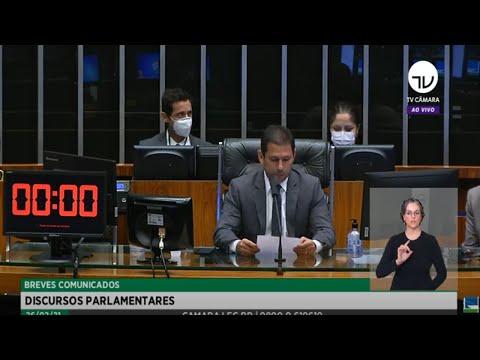 Plenário - Breves Comunicados - Discursos parlamentares - 26/02/21