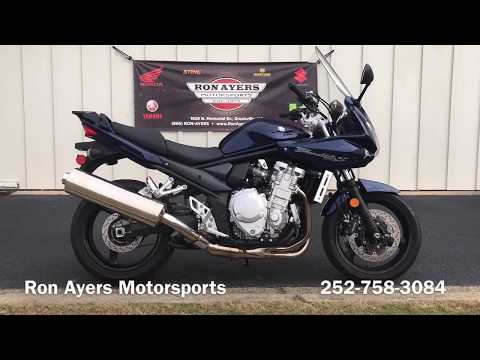2009 Suzuki Bandit 1250 in Greenville, North Carolina - Video 1