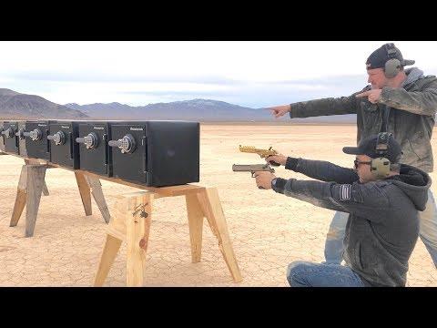 要多少保險箱才能抵擋 點50口徑的槍