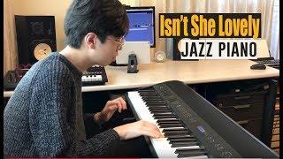 Stevie Wonder - Isn't She Lovely Jazz Piano
