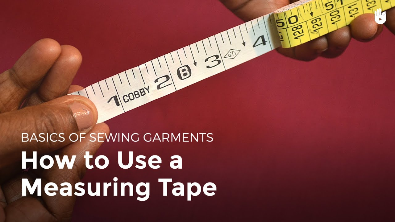 Tape Measure Test >> How to use a measurement tape - Sewing Machine Operator   Sikana