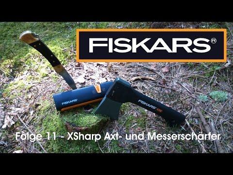 FISKARS XSharp Axt-und Messerschärfer