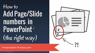 How to Add Page/Slide numbers  in PowerPoint