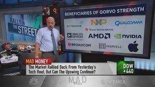 Jim Cramer: Qorvo's guidance boost helped tech stocks roar higher