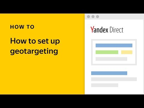 How to set up geotargeting