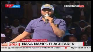 NASA Rally: Governor Joho takes on President Uhuru and DP William Ruto