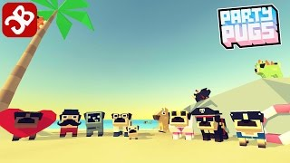 Party Pugs: Beach Puzzle GO! (By Channel 4) - iOS/Android - Gameplay Video
