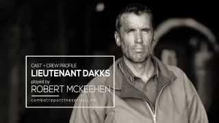 COMBAT REPORT - Robert McKeehen as Lt. Dwight Dakks