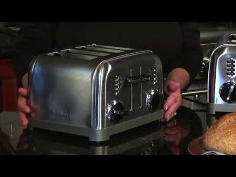 , 2-Slice Toaster, Cool Touch Toasters with 2 Extra-Wide Slots, 7 Browning Dials and Removable Crumb Tray – Brushed Stainless Steel