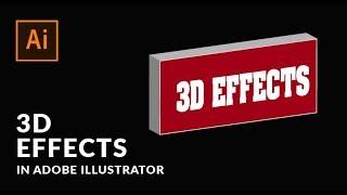 Adobe Illustrator Tutorial - 3D Effects
