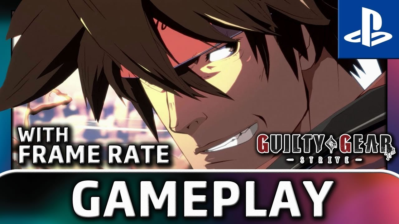 Guilty Gear: Strive | PS4 Beta Gameplay With FRAME RATE
