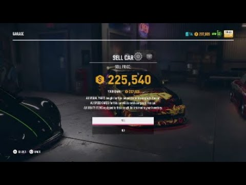 How To Sell Cars On Need For Speed Payback