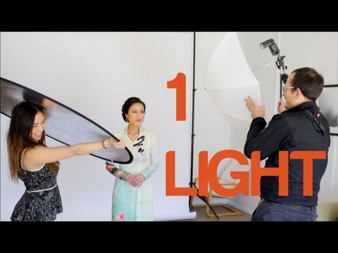 1 light studio portraits
