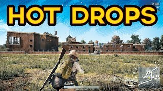 PUBG HOT DROPS ONLY | Battlegrounds Best Solo, Duo & Squad Live Stream Gameplay