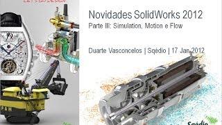 Novidades SolidWorks 2012: Parte III