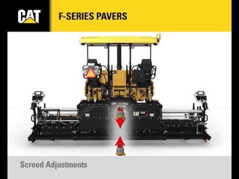 F-Series Paver Controls