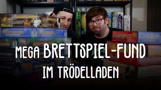 Mega Brettspiel-Fund im Trödelladen!