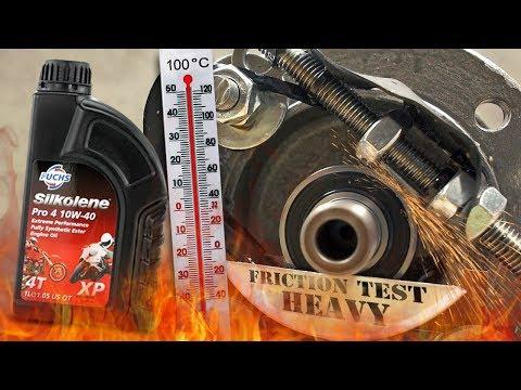 Fuchs Silkolene Pro 4 Plus 10W40 XP Jak skutecznie olej chroni silnik? 100°C