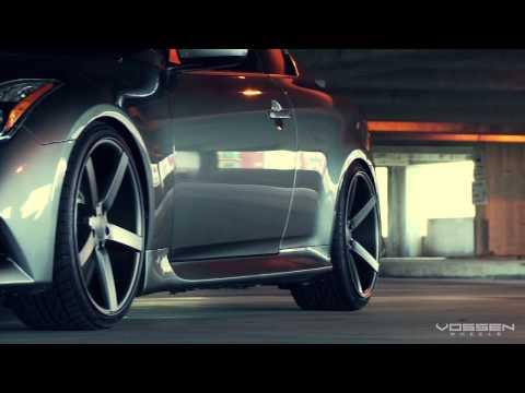 "Infiniti G37 IPL on 20"" Vossen VVS-CV3 Concave Wheels / Rims"