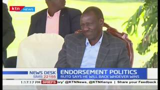 Nikishinda waniunge mkono,that is Democracy says DP Ruto