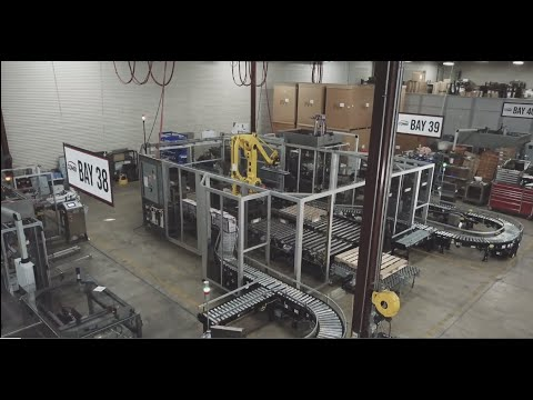 Pick and Place Case Packing & Robotic Palletizing Dual Lines