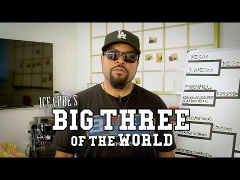 Ice Cube's 'Big Three Of The World'
